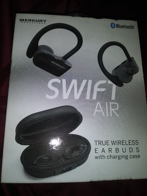 Mercury Bluetooth Ear buds with case for Sale in Stockton, CA