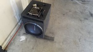 12 Pioneer Subwoofer and SSL Equalizer for Sale in Dallas, TX