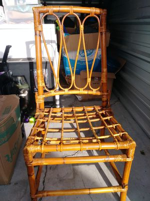 Bamboo Chair for Sale in Pounding Mill, VA
