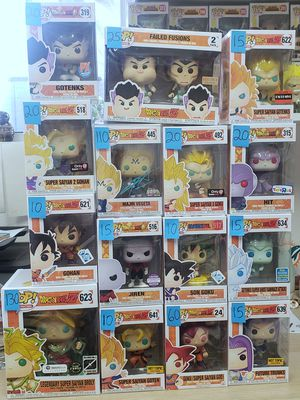 Dragon ball z funko pops for Sale in San Diego, CA