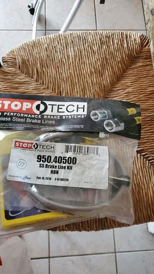 Honda acura integra energy suspension trailing arm bushing stop tech stainless steel braided brake lines for Sale in Los Angeles, CA