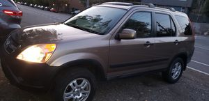 2003 Honda crv 4x4 AWD 4CYL 140,000K millas for Sale in Seattle, WA