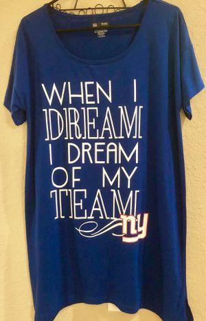 New! New York Giants / NY Giants Women's Large Sleep-Night Shirt for Sale in Pembroke Pines, FL