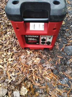 Husky 1850 Watts generator for Sale in Germantown, MD