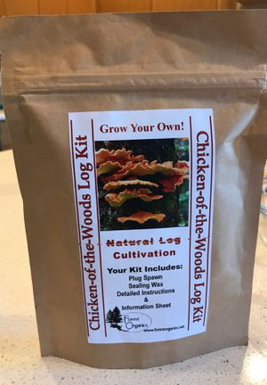 Mushroom grow kit, Chicken of the Woods log kit for Sale in Portland, OR
