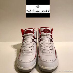 Air Jordan 2 White / Red for Sale in Hyattsville, MD