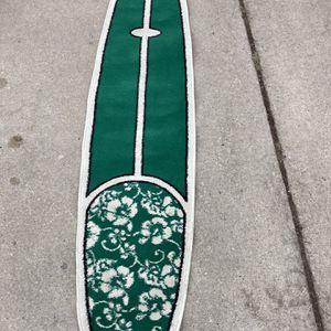 Rare surfboard rug for Sale in Hinsdale, IL