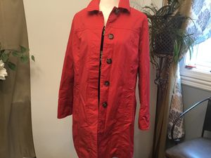 Women's Eddie Bauer trenchcoat size large for Sale in Darrington, WA