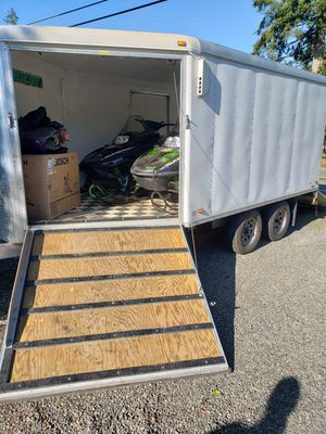Artic Cat snowmobiles and trailer for Sale in Arlington, WA