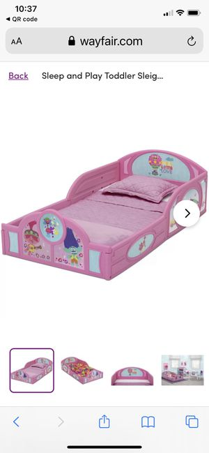 TODDLERS TROLLS BED NEW for Sale in Glendale, AZ