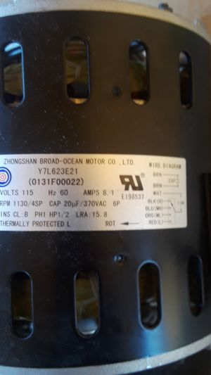 Brand new ac unit fan motor for Sale in North Las Vegas, NV