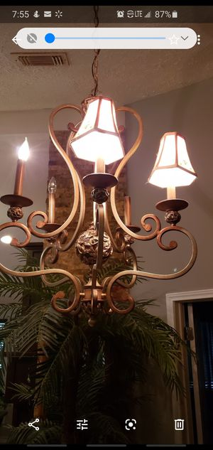 Minka Lavery Salon 5- Light Chandelier for Sale in Houston, TX