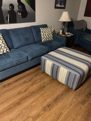 Sofa bed chase and ottoman for Sale in Manchester Township, NJ
