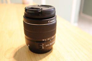 Canon 18-55mm EFS kit camera lense for Sale in Las Vegas, NV