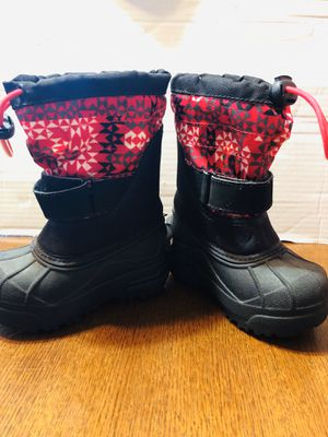 Girls Toddler Boots Columbia Size 7 for Sale in Berwyn, IL