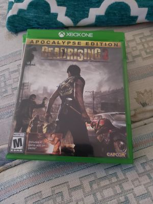 Dead Rising 3 for Xbox One for Sale in Issaquah, WA