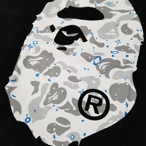 BAPE Space Camo Big Ape Head Black Tshirt for Sale in Chicago, IL