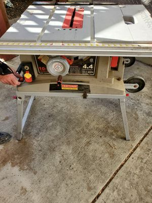 """Craftsman 10"""" job site table saw for Sale in Concord, CA"""