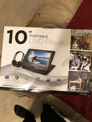 "10"" Portable DVD Player for Sale in Las Vegas, NV"