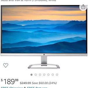 HP Monitors for Sale in Highland, CA
