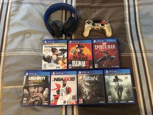 PS4 Games and accessories. for Sale in Skokie, IL