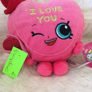 Shopkins/Candy kisses stuffed animal for Sale in Menifee, CA