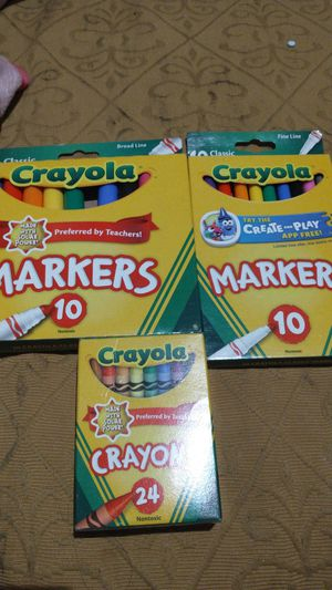 Crayola lot of crayons !!! for Sale in Phoenix, AZ