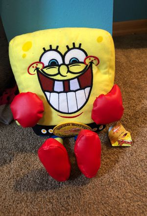 Spongebob plushie for Sale in Marysville, WA