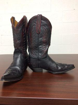 Cowboy boots brand name Star boots from Mexico real leather $150, size 9.5US. Botas marca Star de Mexico cuero real talla 9.5us muy bonitas y cómodas for Sale in Alexandria, VA