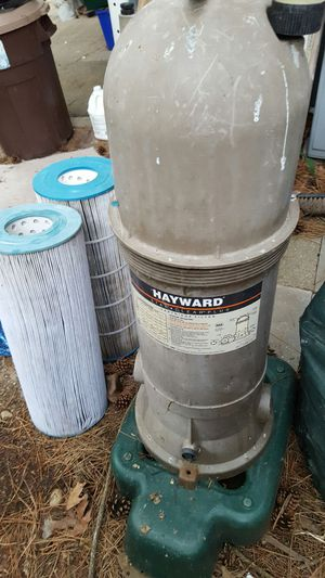 Pool filter housing and cartridge for Sale in Independence, OH