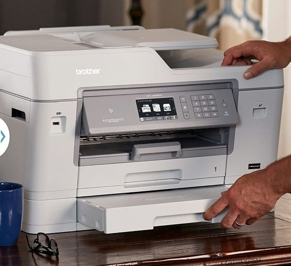Brother MFC-J6935DW INKvestment All-in-One Color Inkjet Printer, Wireless Connectivity, Automatic Duplex Printing