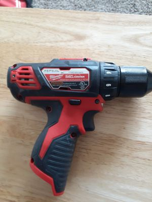 Milwaukee drill 12 v for Sale in Houston, TX