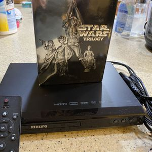 Widescreen Star Wars & Region-Free DVD Player for Sale in Ontario, CA
