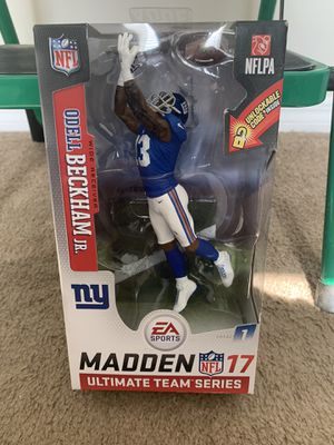 Very collectible Odell Beckham action figure for Sale in Zephyrhills, FL