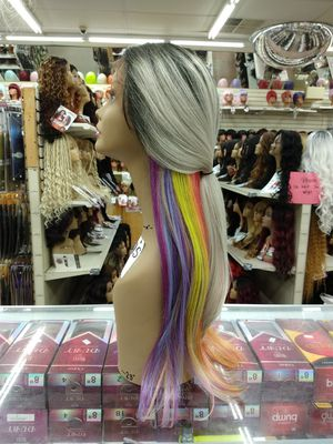 NT. Long straight ombre lace front wig for Sale in S CHESTERFLD, VA