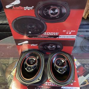 Audiopipe Car Audio . 6x9 Car Stereo Speakers . 400 watts . New Years Super Sale $40 A Pair While They Last . New for Sale in Mesa, AZ
