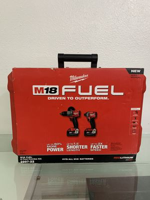 M18 Fuel 2-Tool Hammer Drill/Impact Driver Combo Kit (NEW) for Sale in Miami, FL