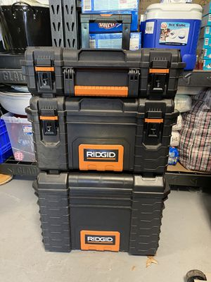 RIDGID Professional Tool Storage System Toolbox for Sale in Bowie, MD