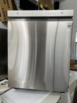 LG STAINLESS STEEL DISHWASHER WITH STAINLESS TUB for Sale in West Covina, CA