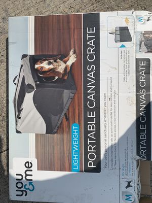 Portable dog crate for Sale in Humble, TX