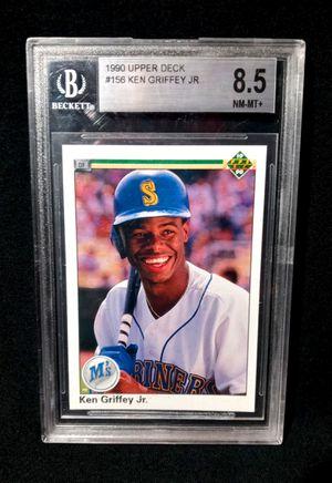 Baseball card - ken Griffey jr card for Sale in Hemet, CA
