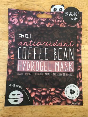 Face Mask- coffee bean hydrogel for Sale in Fullerton, CA