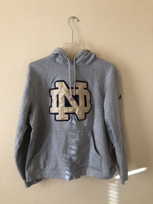 Notre Dame adidas hoodie for Sale in Philadelphia, PA