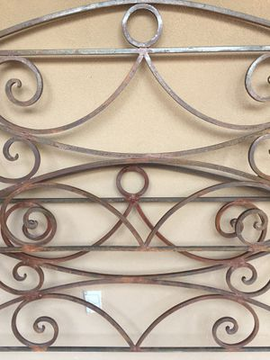 Wrought-iron queen bed for Sale in Santa Fe, NM