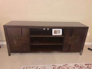 Tv Stand - solid wood - Antique for Sale in East Brunswick, NJ