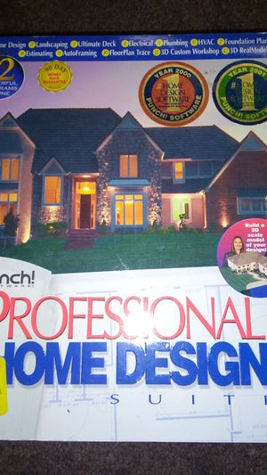 Punch software Professional home design for Sale in Sacramento, CA