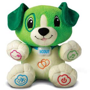 Leap frog my pal scout puppy green toy for Sale in Trenton, NJ