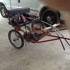 Mini or small pony Cart and neoprene harness 495. for Sale in Zephyrhills, FL