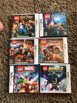 Nintendo 3ds LEGO games for Sale in Snohomish, WA