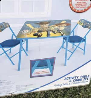 New Toy Story Table and chairs for kids for Sale in El Monte, CA